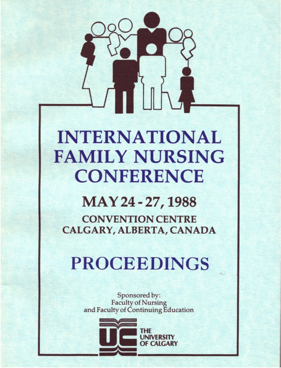 History of the International Family Nursing Conferences